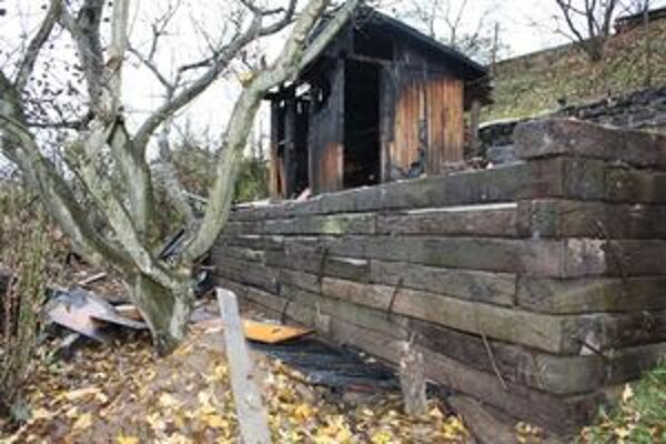 V záhradkárskej oblasti zhoreli dve chatky.