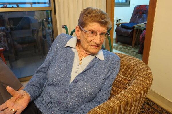 Miriam Abeles. Rodáčka z Levoče našla nový domov v Haife.