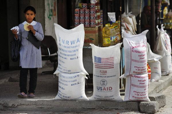Americká pomoc a pomoc od UNRWA je kľúčová pre prežitie milióna Palestínčanov.
