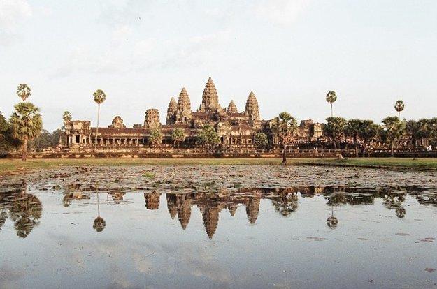 Angkor Wat, Siem Reap, Kambodža