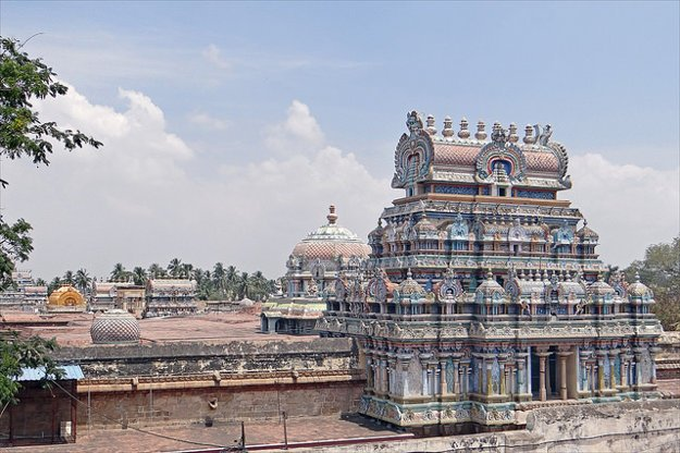 Chrámový komplex Sri Ranganathaswamy, Srirangam, India