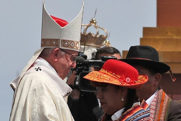 Pápež František sa stretol so zástupcami menšín pôvodných obyvateľov Čile.