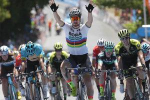 Slovenský cyklista si pripísal premiérový etapový triumf na tomto austrálskom podujatí.