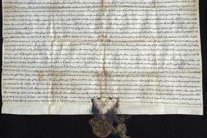 Listina palatína Dionýza z roku 1236 (MNL OL DL 91106)