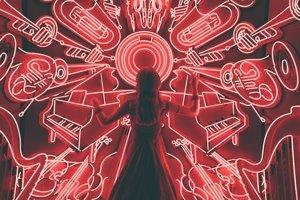 Rôzne zameraní hudobníci pri hraní hudby používajú iné časti mozgu, aj keď hrajú rovnakú pieseň
