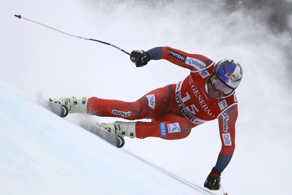 Aksel Lund Svindal suverénne triumfoval v super G v rakúskom Kitzbüheli.
