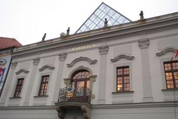 Historická radnica.