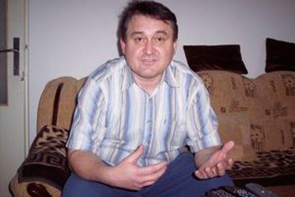 Nový starosta Ján Tešlár.
