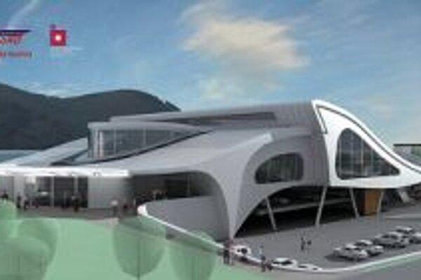 Aj takéto boli predstavy o budúcej podobe autobusovej stanice. Dodnes sa nenaplnili.