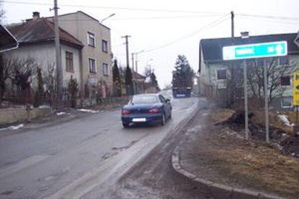 Cesta I. triedy.