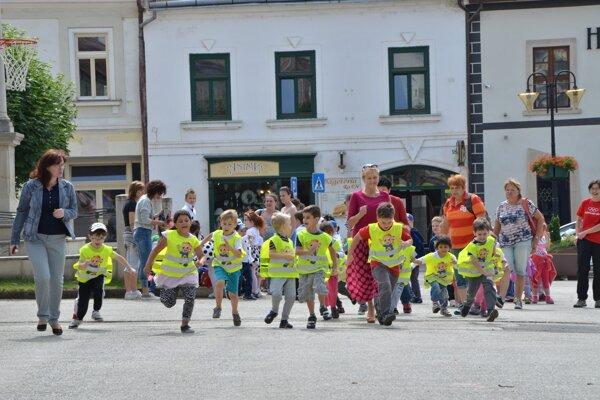 Jedným zpodujatí, ktoré OK Gemer pravidelne organizuje, je aj Beh olympijského dňa.