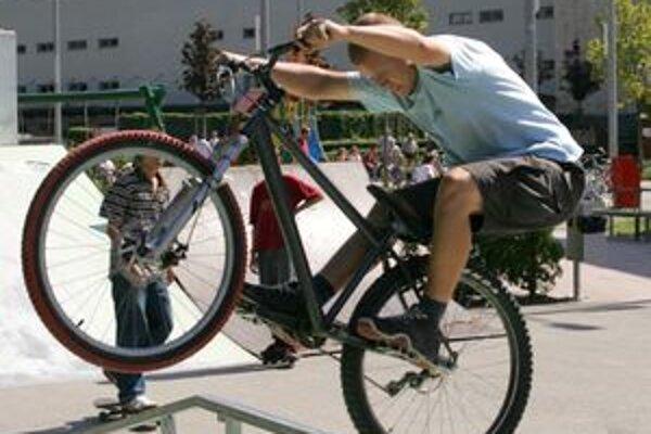 Aj milovníci bicyklov si v novej aréne nájdu to svoje.