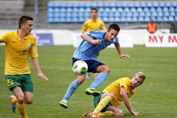 Tomáš Vestenický už má na svojom konte 6 ligových štartov za Nitru z jesene 2013, kedy mal 17 rokov.