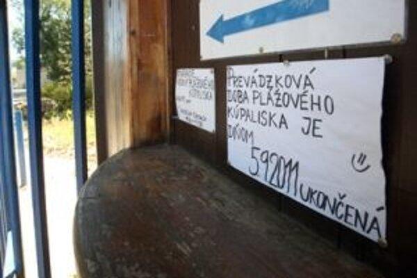 Plážové kúpalisko v Banskej Bystrice zatvorilo svoje brány so začiatkom školského roka