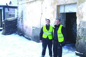 V poriadkovej službe je aj A. Kroščén (vľavo) a M. Facuna.