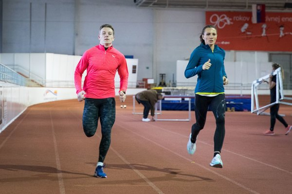 Bežci Ján Volko a Iveta Putalová trénovali spolu.