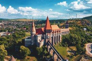 Korvínov hrad, Rumunsko