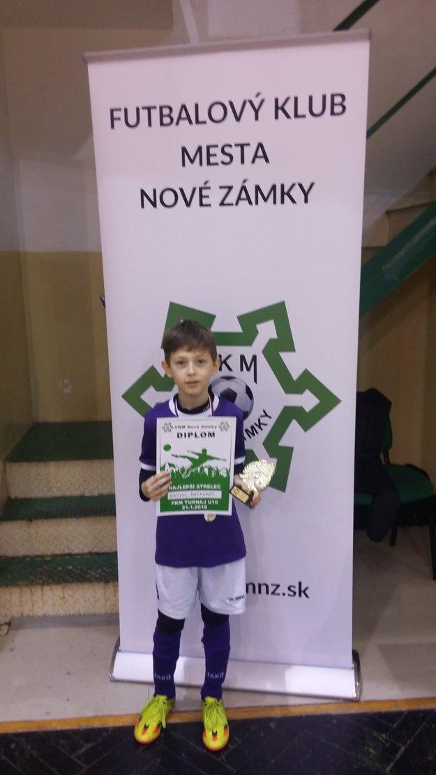 Najlepší strelec turnaja Barnabás Gacsal (KFC Komárno)