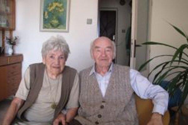 S manželkou Vilmou oslávili nedávno 60 spoločných rokov