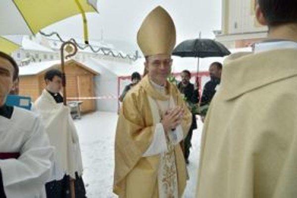 Marián Chovanec dnes prevzal úrad diecézneho biskupa