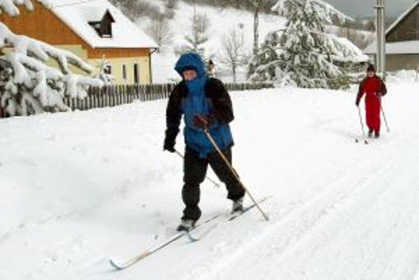 Pre bežkárov pripravili v okolí Banskej Bystrice 50 kilometrov bežeckých tratí.