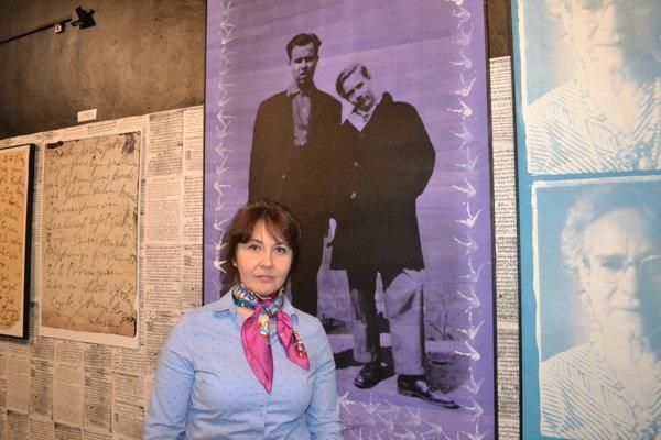 Ľudmila Štecová. Riaditeľka múzea tvrdí, že obraz je majetkom župy.