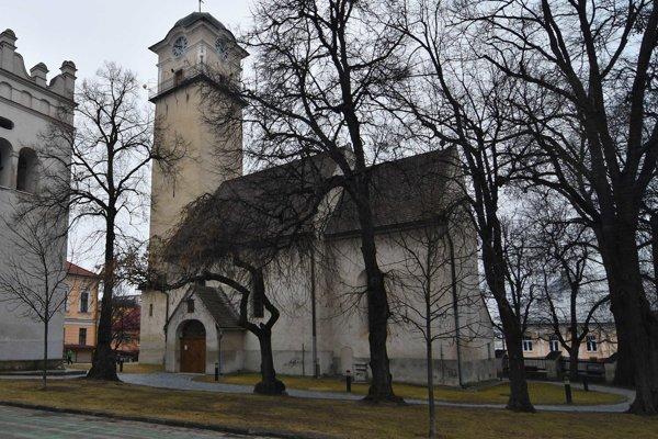 Kostol svätého Egídia z 13. storočia na Námestí svätého Egídia v Poprade.