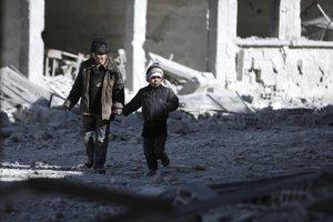 Východná Ghúta je posledným väčším územím pri sýrskom hlavnom meste Damask, ktoré je v rukách odporcov Asada.