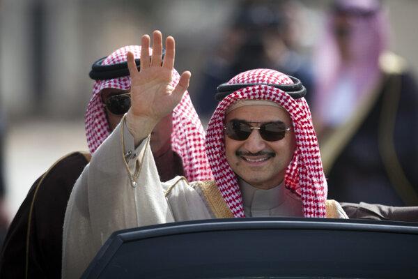 Walíd bin Talál je opäť na slobode.