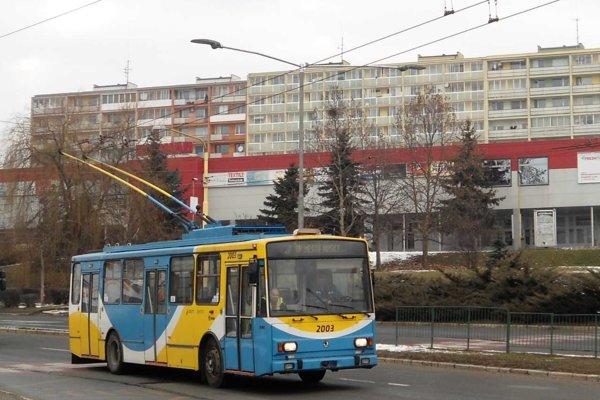 Na Furči sa v sobotu objavil trolejbus.