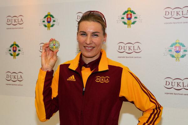 Anastasia Kuzminová je jednou z najväčších slovenských nádejí na ZOH 2018.