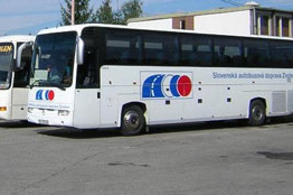 SAD Zvolen zabezpečuje aj prímestskú dopravu.