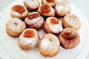 Šišky sú tradičným fašiangovým jedlom.