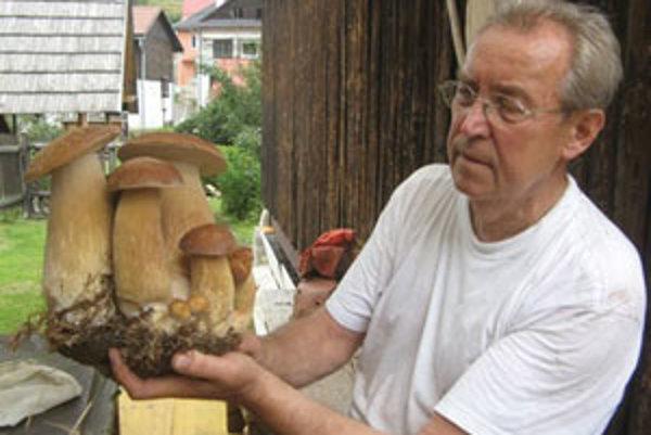 Ladislav Valentíny so svojim úlovkom.