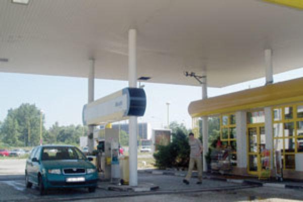 Benzínové čerpadlo na sídlisku Balkán vo Zvolene.