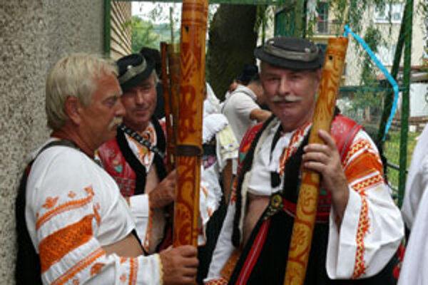 Fujaráši sa každý rok stretávajú v Korytárkach.
