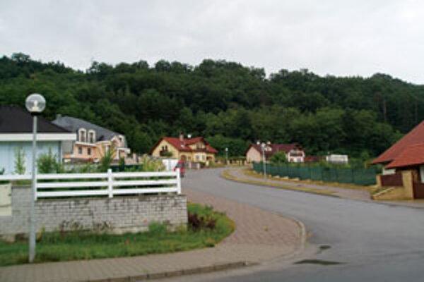 V Budči vyrástla nová vilová štvrť.