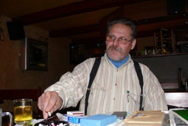 """Odznak """"vojnový veterán"""" dostal Dušan Špalek v septembri."""