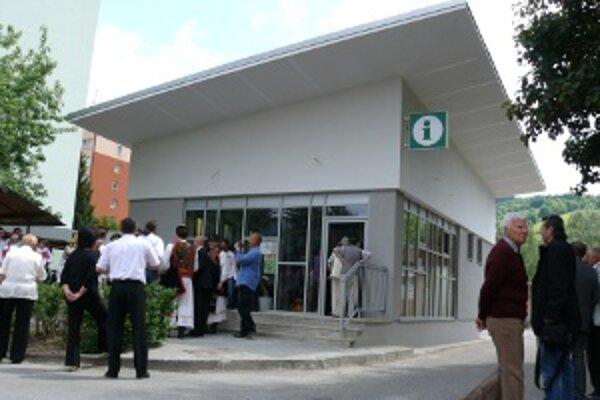Informačné centrum v Hriňovej.