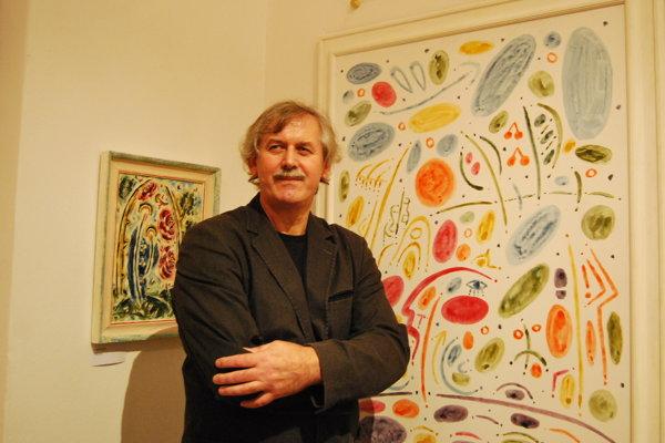 Jozef Vydrnák vystavuje vPodjavorinskom múzeu.