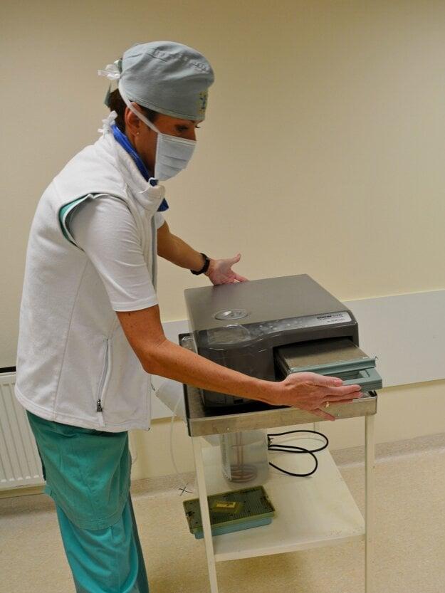 Sterilizátor.