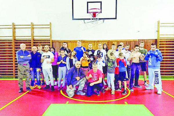 Boxeristi klubu Boxing klub Holíč.