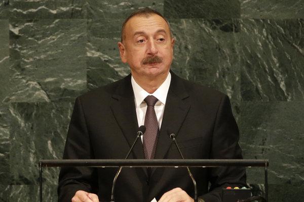 Azerbajdžanský prezident Alijev.