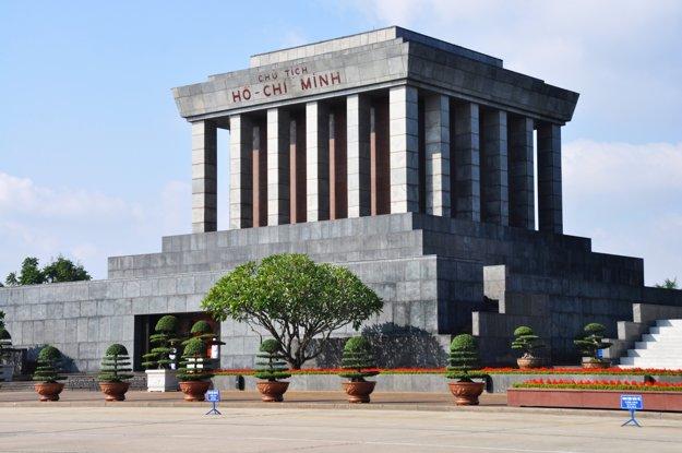 Hanoj, mauzoleum Ho Či Mina