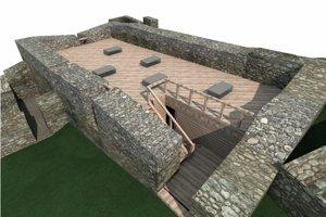Dončov palác na Pustom hrade chcú pretvoriť na výstavný priestor.