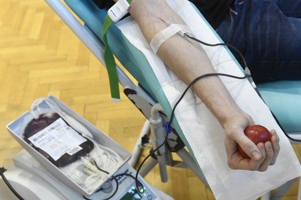Darovanie krvi.