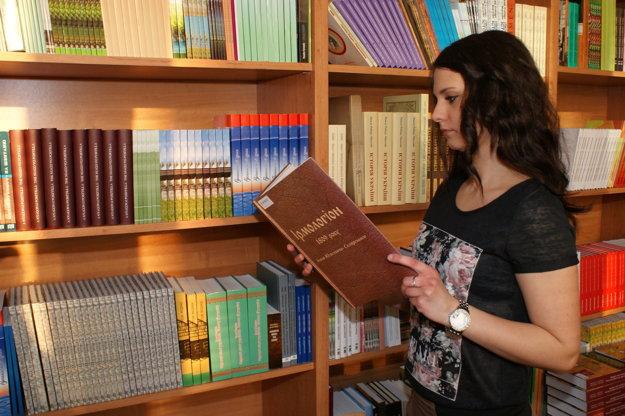 Univerzitná knižnica Prešovskej univerzity.
