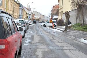 Jarková ulica. Stále čaká na svoju obnovu.