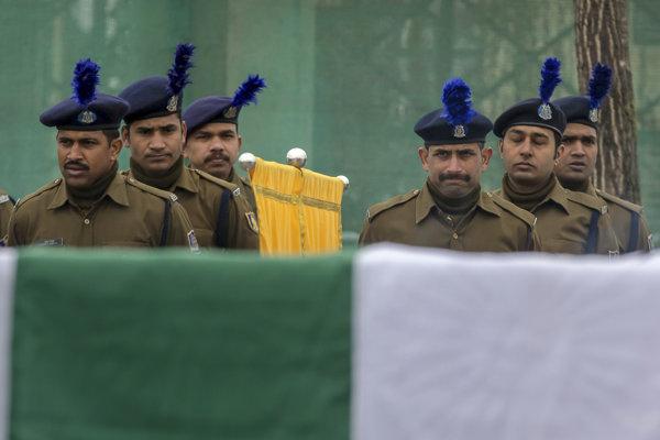 Členovia indickej armády.