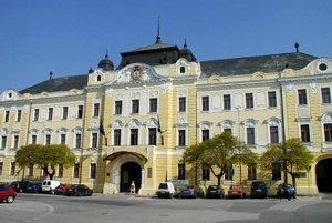 Budova Úradu Nitrianskeho samosprávneho kraja.